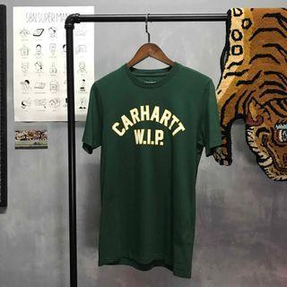:AgdLab:Carhartt WIP - 學院風字母 短袖Tee