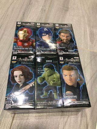 WCF Avengers 復仇者聯盟