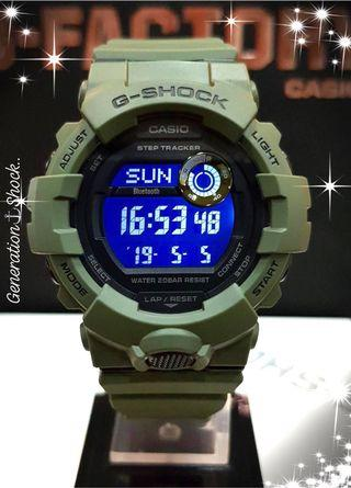 NEW🌟ARRIVAL : 100% ORIGINAL AUTHENTIC G-SHOCK STEP-TRACKER WIRELESS BLUETOOTH SMARTPHONE ANDROID LINK: Best For Most Rough Users & Unisex : GBD-800UC-3DR / GBD-800UC-3 / GBD800UC-3 / GBD-800-3 / GBD800-3 / CASIO / BABYG / GSHOCK / WATCH