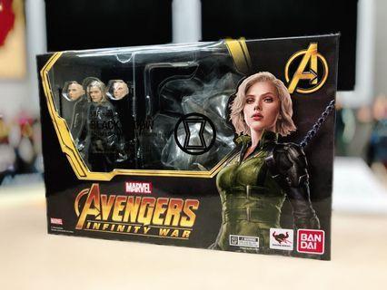 SHF Black Widow 全新 黑寡婦 豪華版 S.H.Figuarts Marvel Avengers Infinity War 復仇者聯盟 無限之戰