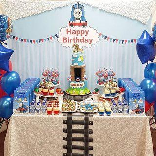 Character Themed Party Set Up Dessert Table