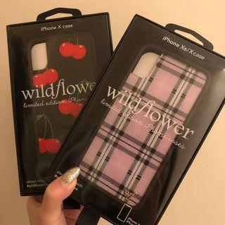 Wildflower cases iPhone X/Xs