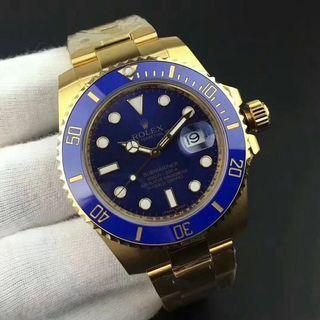 Jam tangan Rolex Submariner 18k gold special edition
