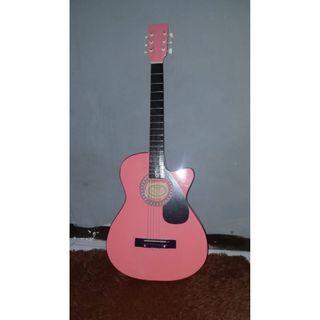 Gitar Yamaha String F310P - Pink (Jual karena bosan)