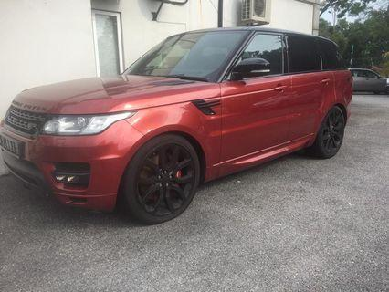 Range Rover credit loan