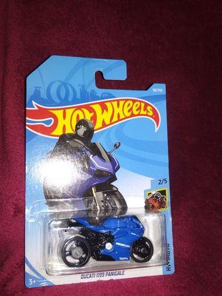 Hot Wheels ducati 1199 panigale blue DUCATI CORSE