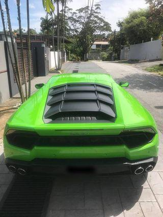 Lamborghini huracan ready for credit loan
