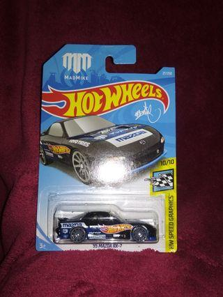 Hot Wheels MM MAD MIKE D1 DRIFT DRIFTER 95' mazda rx7 rx-7