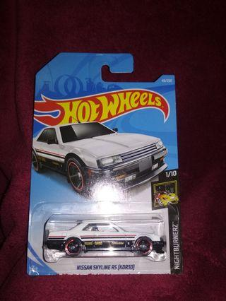 Hotwheels nissan skyline rs Turbo (kdr30)