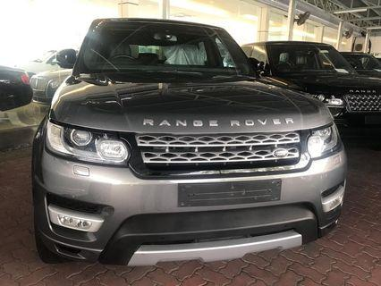 Range Rover unregistered ready give credit loan