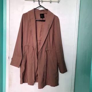 Dusty Blush Fall/Spring Coat/Jacket