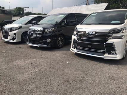 Vellfire ready for hari raya fast aprove credit loan unregistered
