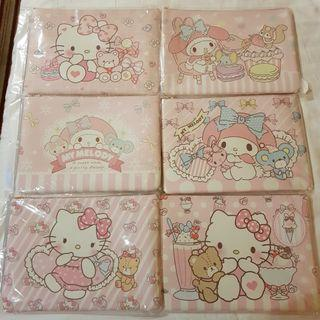 Hello Kitty/Melody Case Pouch Folder (A4)