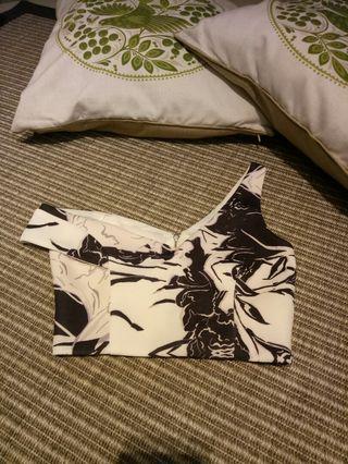 MDS batik crop top