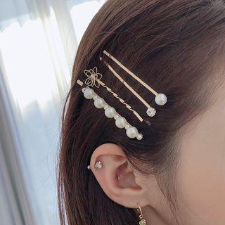 🚚 韓國飾品品牌Soo&Soo珍珠髮夾