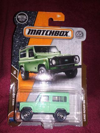 Matchbox 65 th year anniversary LAND ROVER 90 shorty shortbody 2door