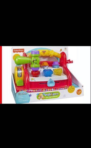🚚 Fisher Price Laugh & Learn Learning Toolbench
