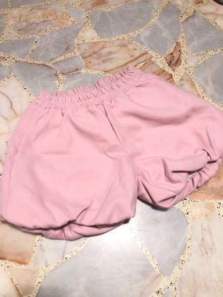 harajuku pastel pink lolita pumpkin shorts