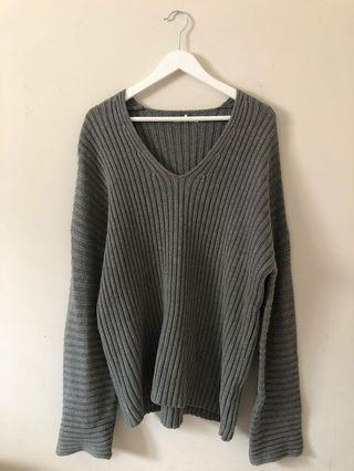 oak and Fort oversized sweater size m