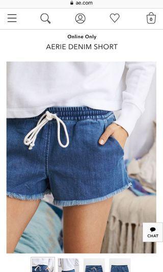 Aerie Denim Shorts