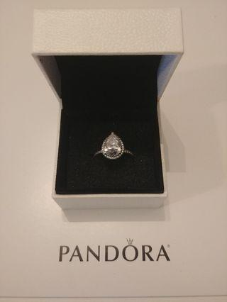 Pandora Radiant Teardrop Ring Size 7