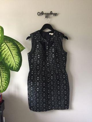 Maje Jacquard Dress
