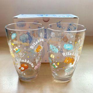 Rilakkuma San-X twin glass pack