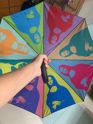 新加坡展品《早期蒙娜麗莎》雨傘(全新未用過)