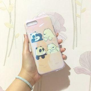 NEW we bare bear iphone case 7+ 8+