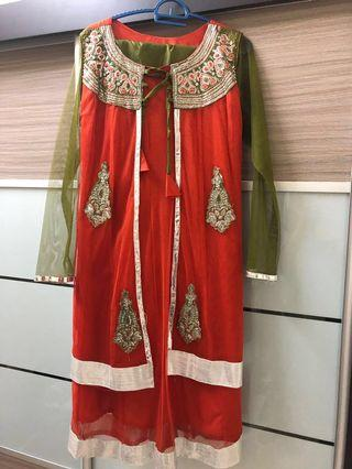 Salwar Kameez/Punjabi Suit (Long Sleeve)