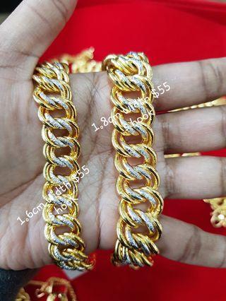 Bangkok Gold 2 tones coco 1.4cm width