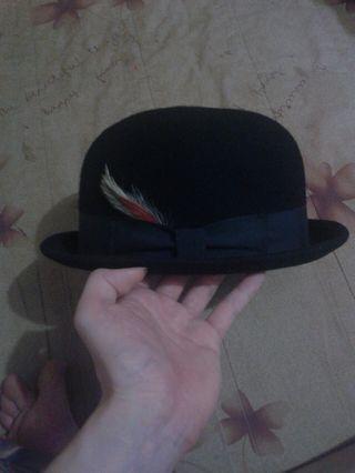 正版圓頂英倫帽 絕版帽