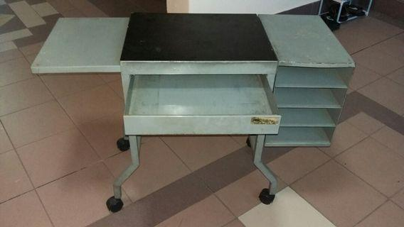 Vintage typing table