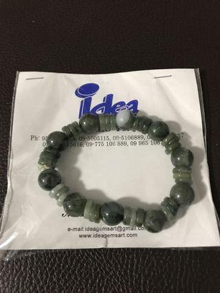🚚 Green stone Jem Bracelet
