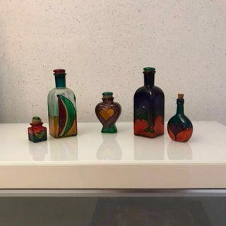 Beautiful Bottles Decor Collection (Set of 5)
