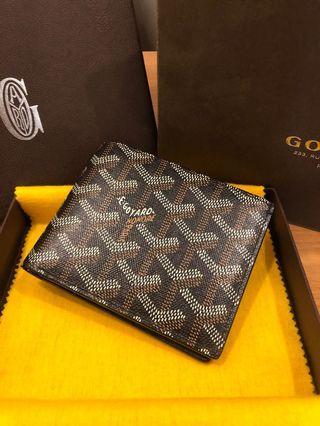 Goyard bifold wallet black SUPERB Condition
