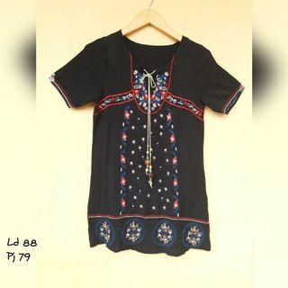 Black India Tunic