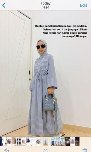 Selena Ikat Grey by Iymel Says Hijab