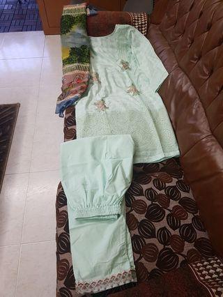 Pakistani suit lawn collection indian traditional punjabi