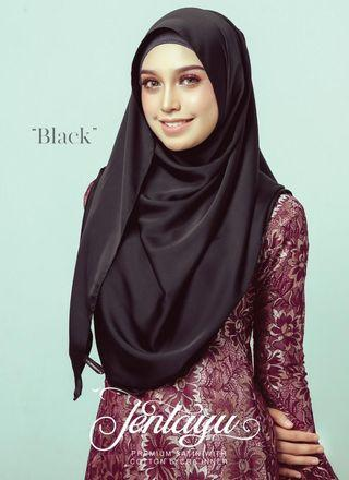 ⭐INSTOCKS Grandahlia Jentayu Shawl in Black