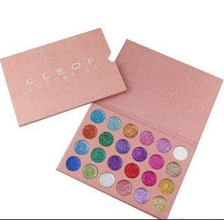 CLEOF GLITTER EYESHADOW