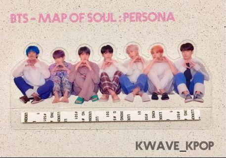 ✨BTS 방탄소년단 MAP OF SOUL : PERSONA✨ -OFFICIAL AUTHENTIC TRANSPARENT PHOTO PICKET ✈️FREE SHIPPING WORLDWIDE