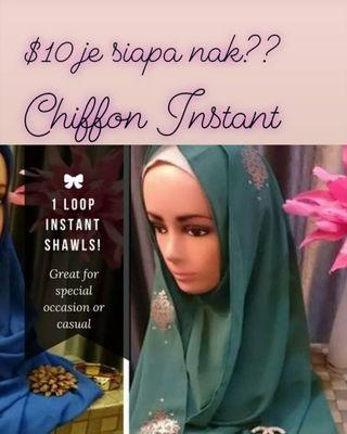 (CLEARANCE SALE) $10 FULL INSTANT SHAWL