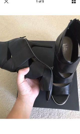 Wittner leather heels sz 41