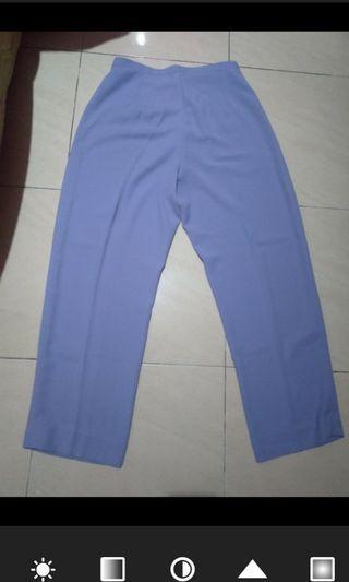 Celana bahan warna taro