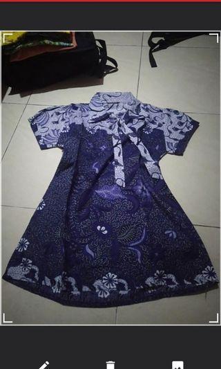 Batik Pekalongan warna ungu