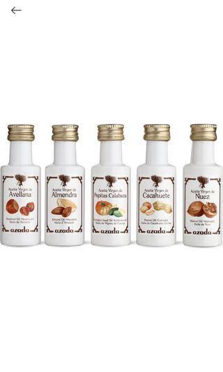 Azada set of virgin nut oils 5x 20ml