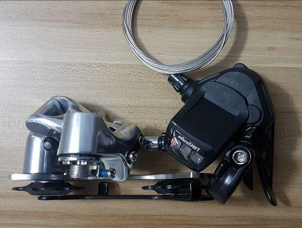 New Microshift Shifter and Derailleur