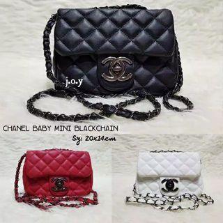Chanel Mini Bag Hitam