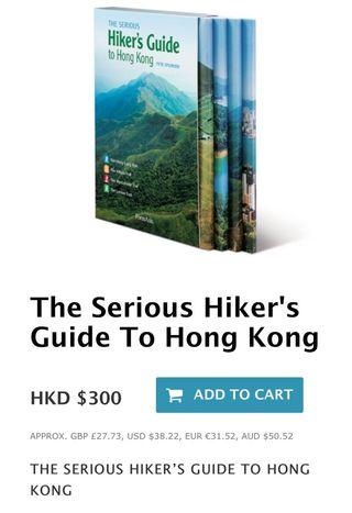 The serious hiker's guide to hong kong by Pete Spurrier